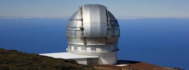 Telescopio Roque de los muchachos